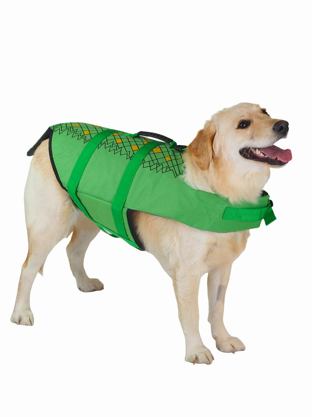 Tropical Fish Dog Swim Vest Lifejacket