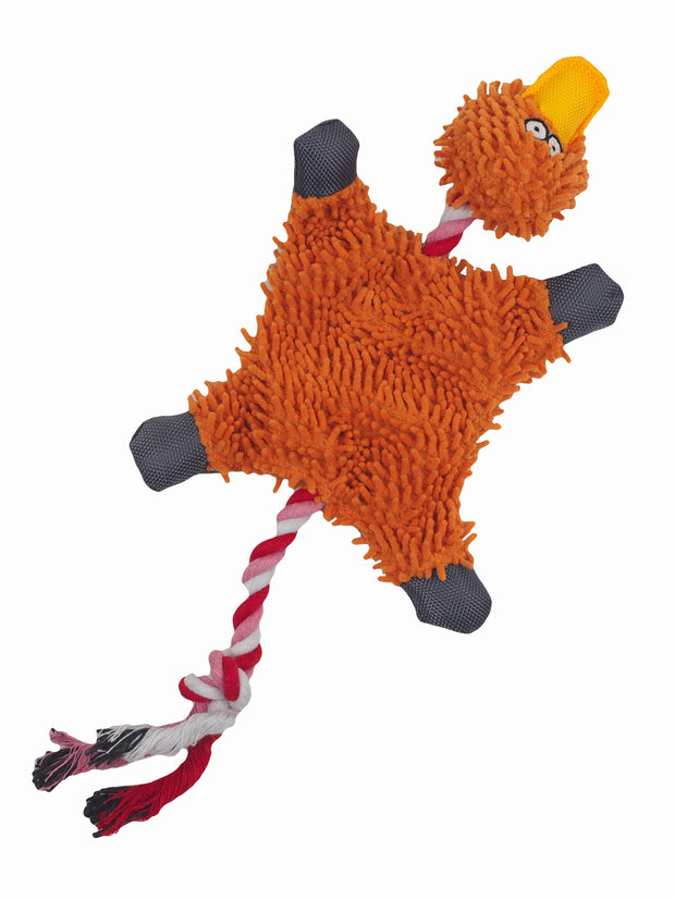 Affordable online plush rope duck dog toy