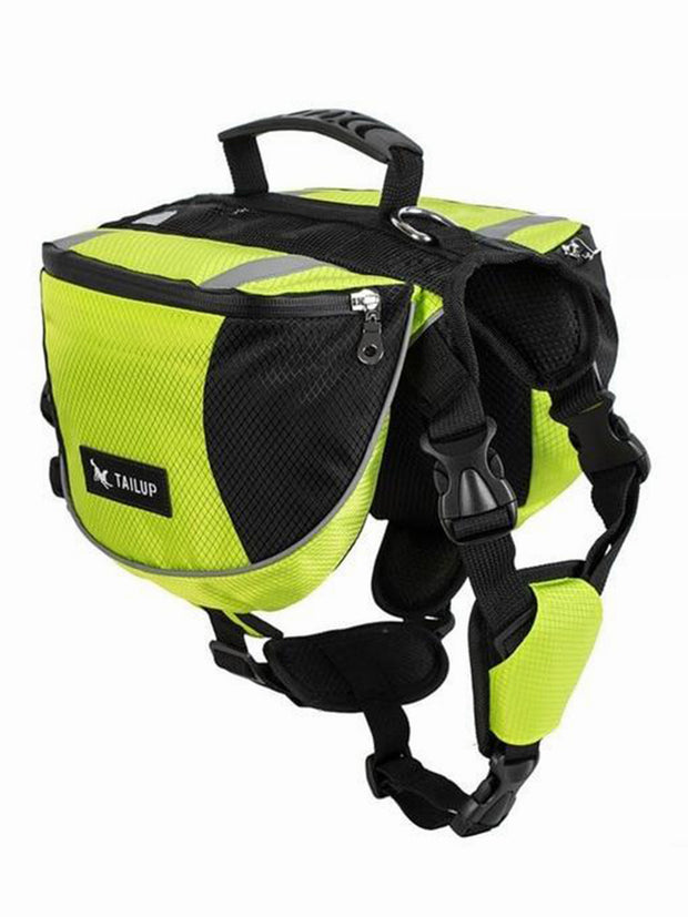 yellow dog carrier harness