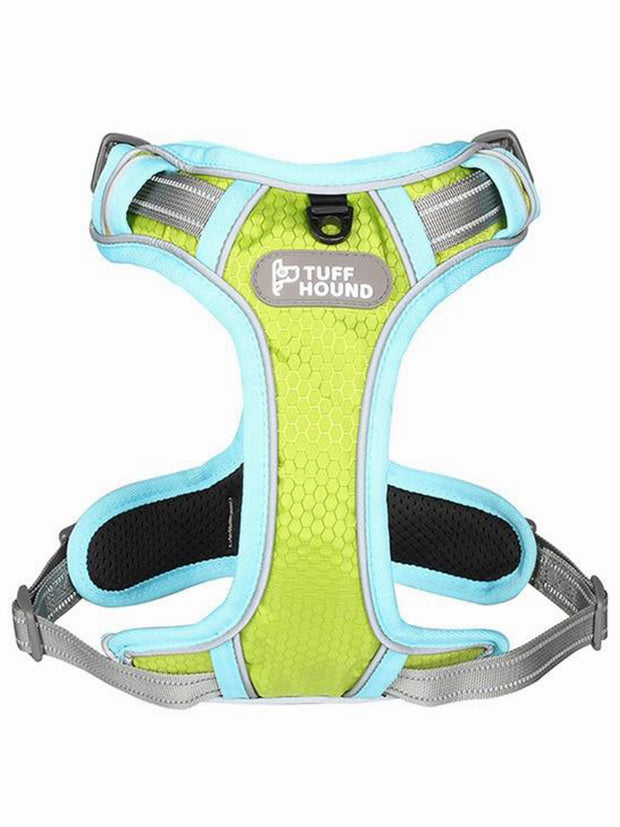 yellow online dog harness