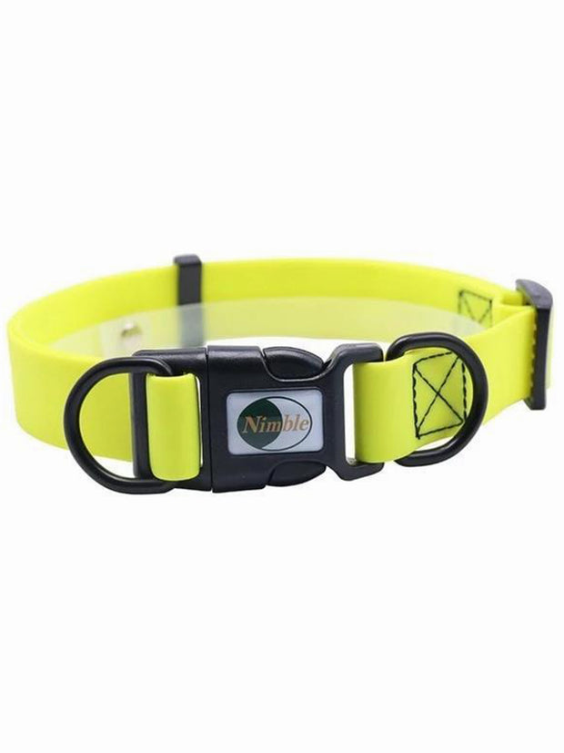 cheap yellow plastic dog collar