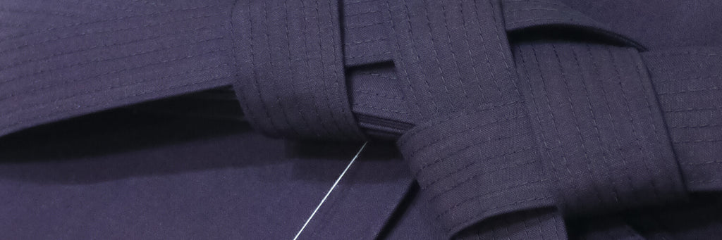 Aizome - Japanese Indigo on Budo Equipment