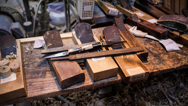 Traditional Tools in Nidome Workshop