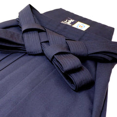 Light Weight Aikido Hakama - Polyester/Linen (Navy)