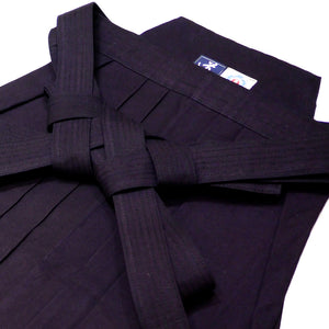 Semi-Heavy Weight (#6000) Indigo (Aizome) Cotton Hakama