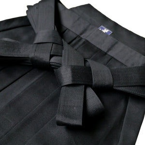 Heavy Weight (#8000) Black/Navy Cotton Hakama