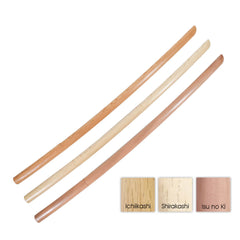 Deluxe Chuto Bokken [for Kids] - Classic Woods