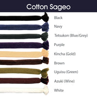 Cotton Sageo Color Chart