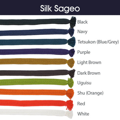 Silk Sageo Color Chart