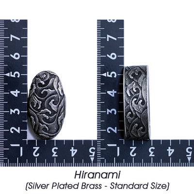 Hiranami (Silver Plated Brass - Standard Size) [K-001-2BR2]