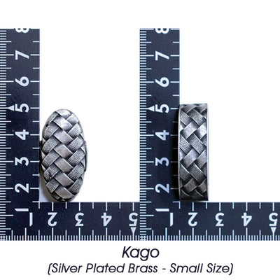 Kago (Silver Plated Brass - Small Size) [K-004-2BR2-S]