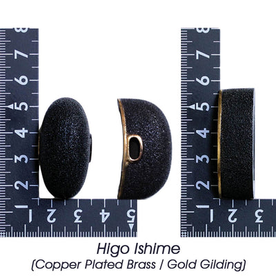 Higo Ishime (Copper Plated Brass / Gold Gilding) [K-028-3BR3]
