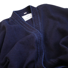 Kendo-Gi Jacket, Aizome Dye, Fully Made of Sashiko Fabric