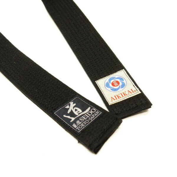 Super Soft Slim Aikido Black Belt