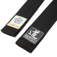 Reinforced Slim Black Belt