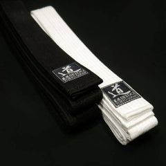 Slim White Belt