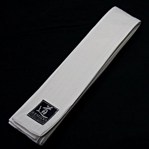 Wide White Belt (Iaiobi)