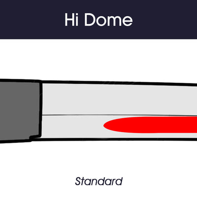 Standard Hi-Dome: 4 cm from the Habaki