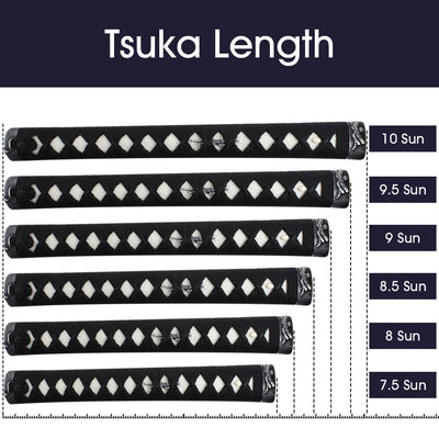 Tsuka Length for Iaito [TL175]~