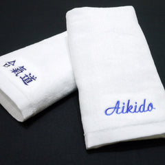 Aikido Face Towel