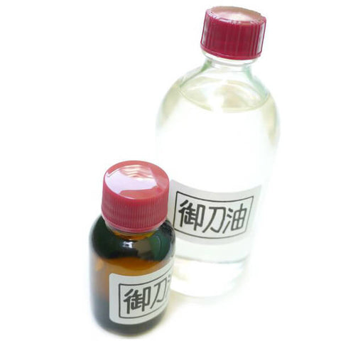 Choji Oil for Saya (Iaito) maintenance