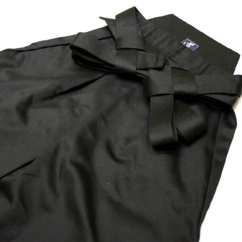 Heavy Weight Cotton Nobakama for Aikido (Black)