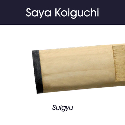 Saya with Suigyu (water buffalo horn) - KG101