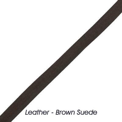 Leather - Brown Suede [TI404]