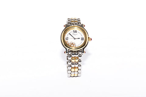 LADIES CHOPARD HAPPY DIAMONDS WATCH