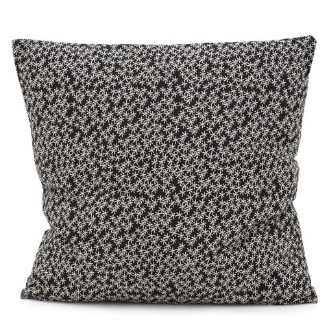 Daisy Rain Cushion Raven