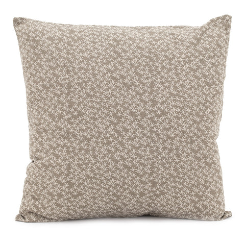Daisy Rain Cushion Simple Taupe