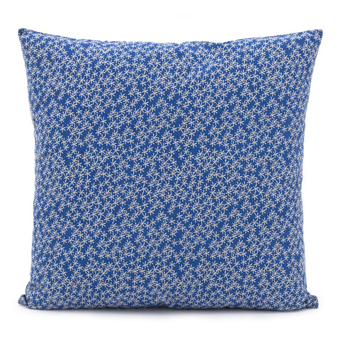 Daisy Rain Cushion Brilliant Blue