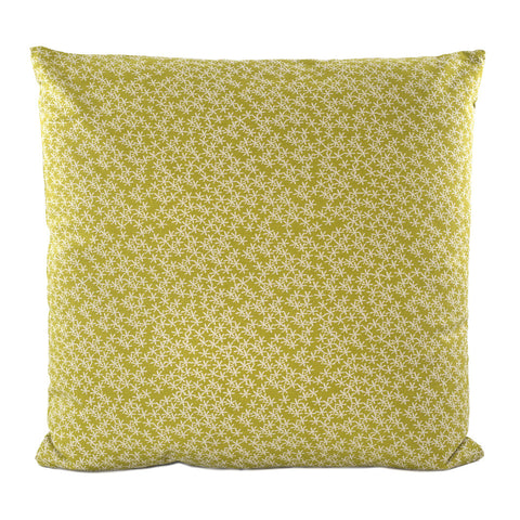 Daisy Rain Cushion Moss Green