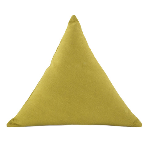 Triangle Cushion Moss Green