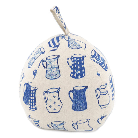 China Blue Jugs Doorstop