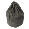 Country Fields Chambray Laundry Bag Charcoal