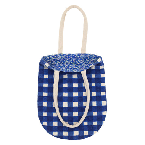 Daisy Rain Tote Bag Brilliant Blue