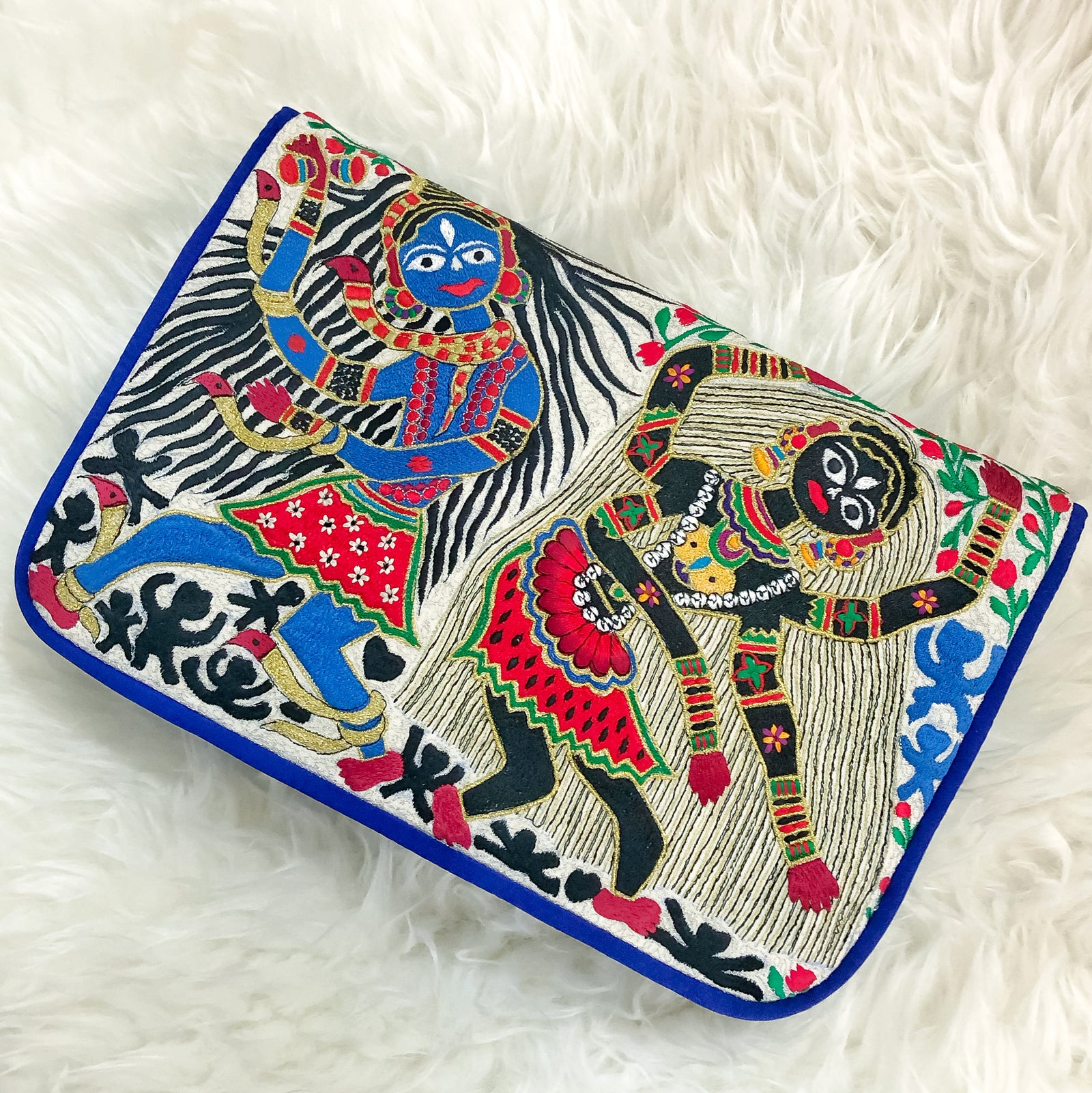 Tandav | Signature Embroidery Clutch