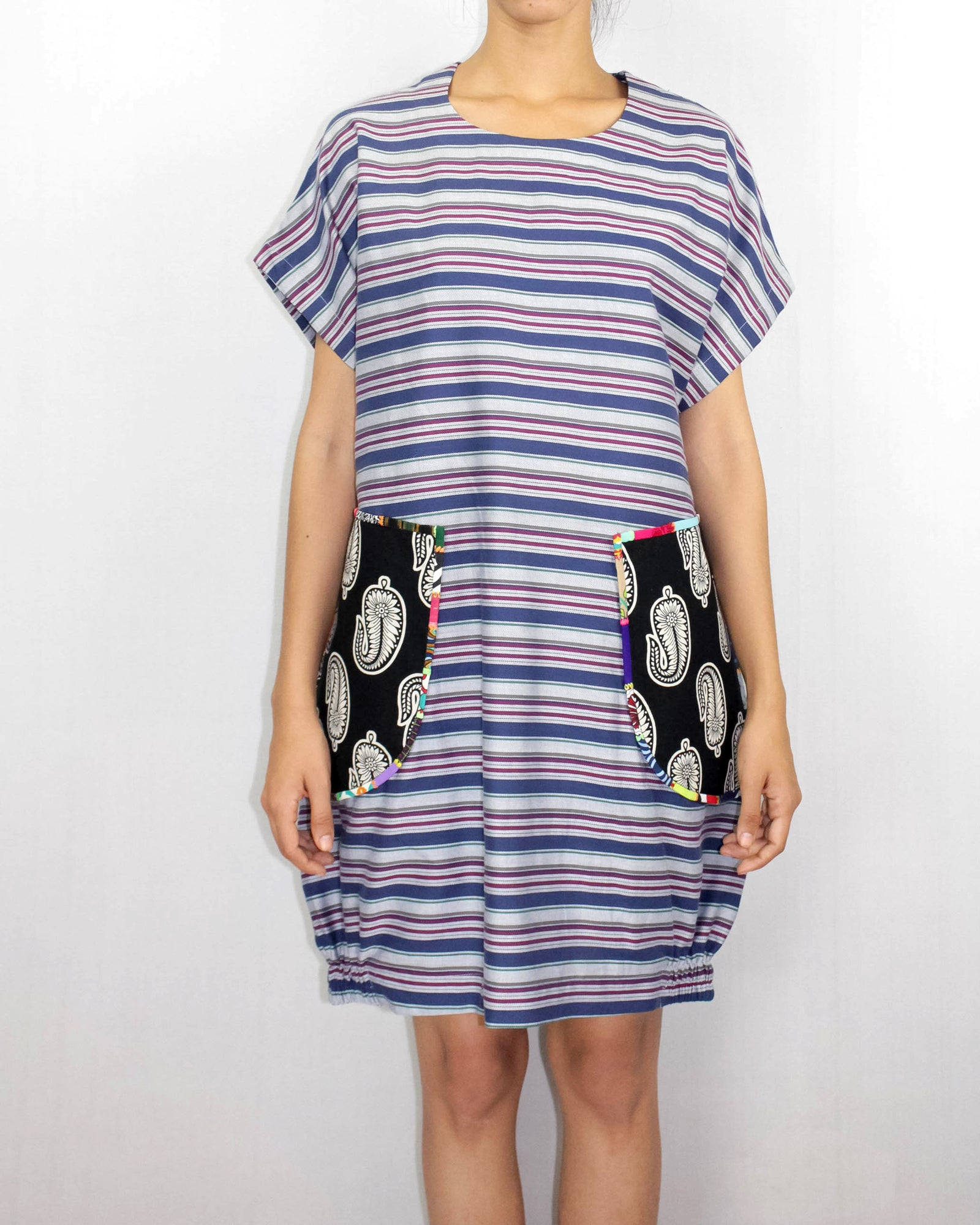 Cotton Stripes Dress