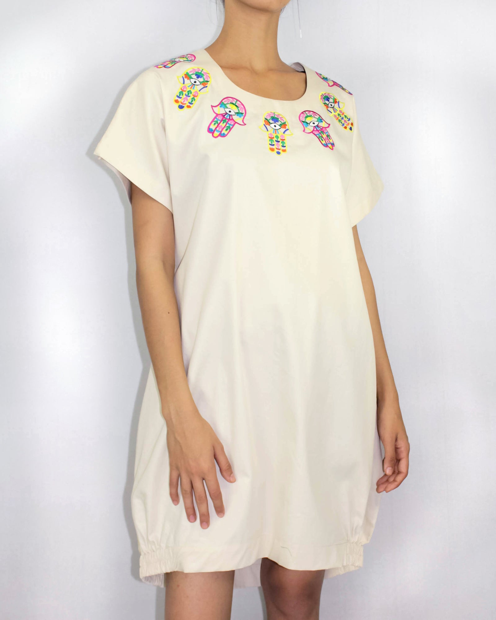 Fatma Hand Cotton Dress