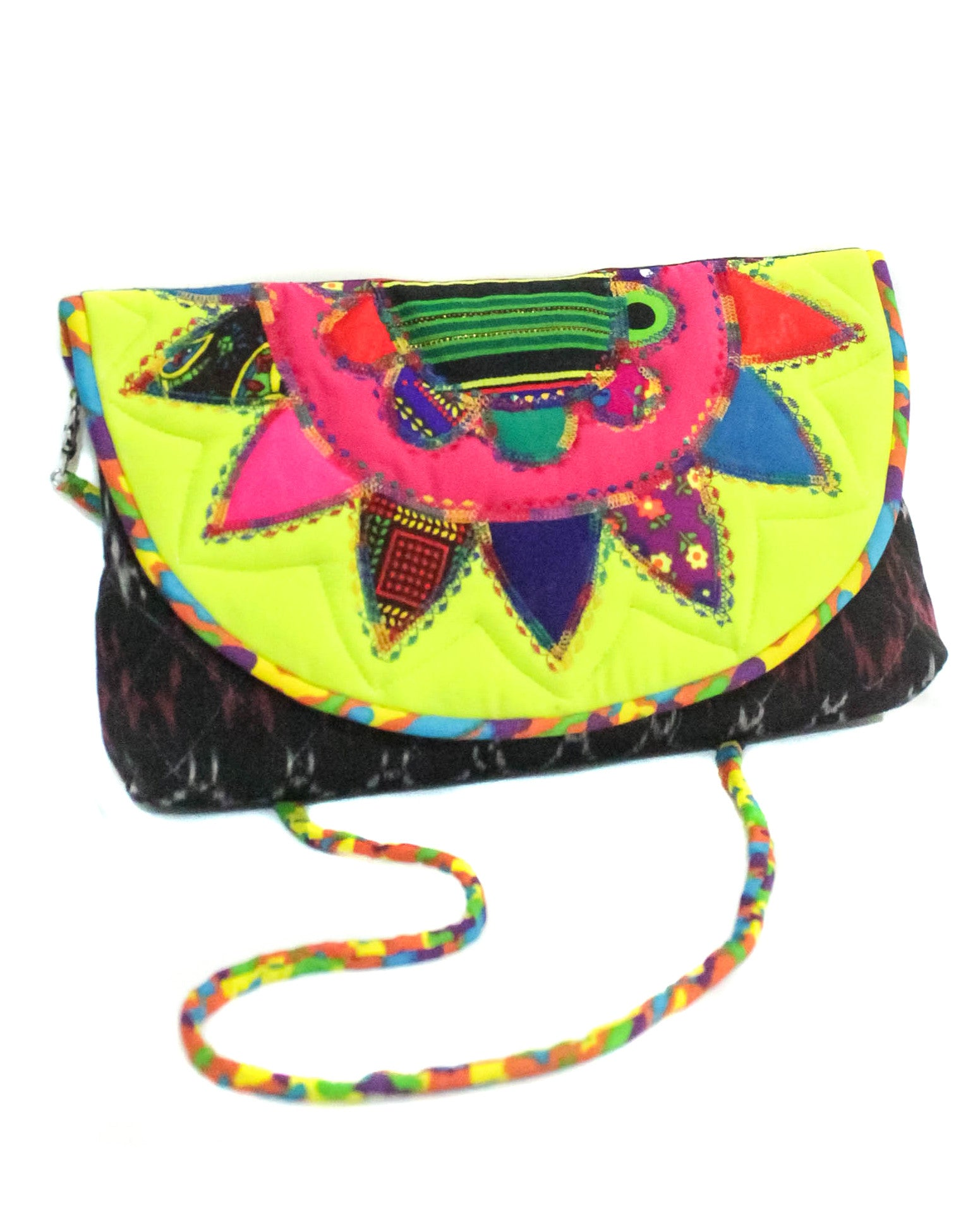 Ikat Signature Patchwork Purse by Ragmatazz