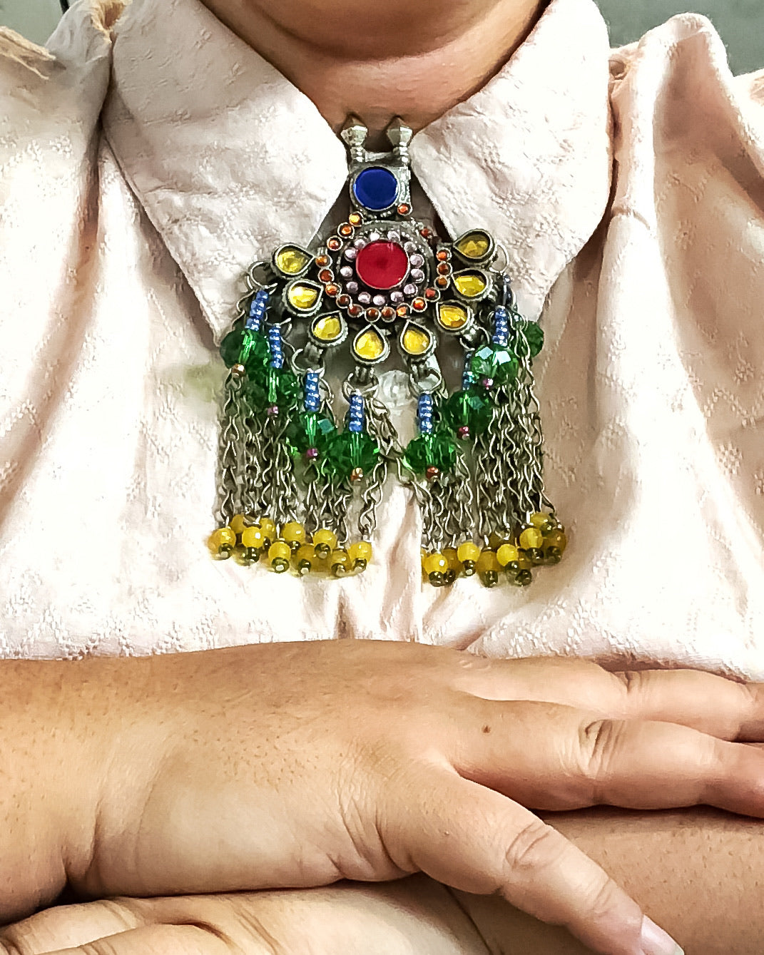 Nazy  | Restored Tribal Necklace