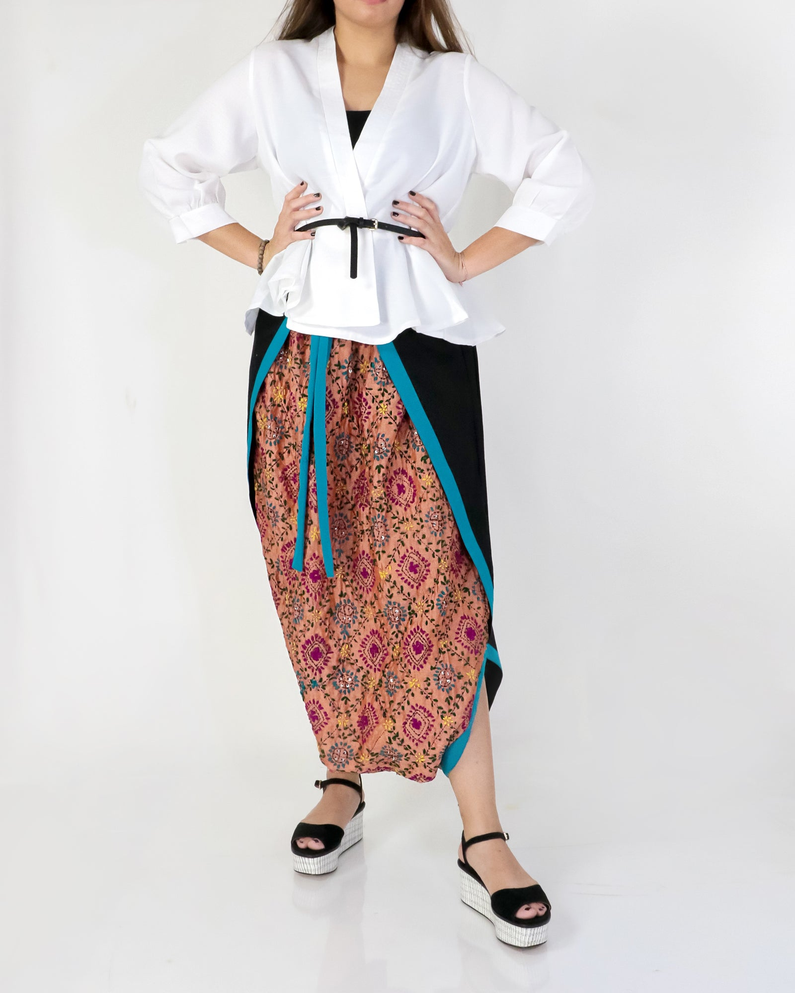 Harem Wrap Pants | Ubika