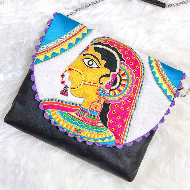 Raani Embroidery Crossbody