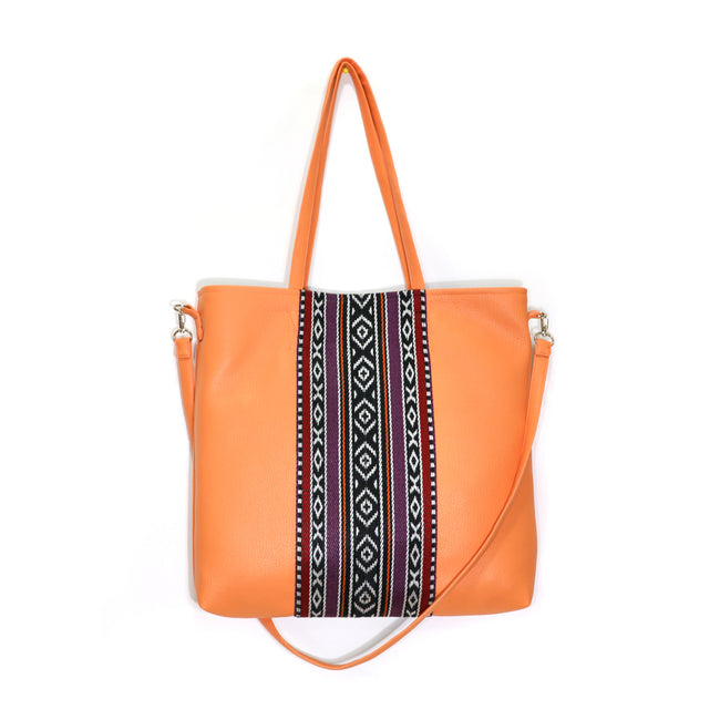 Sadu Everyday Handbag | Atomic Tangerine