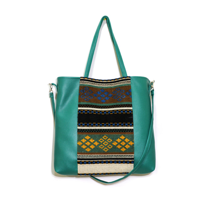 Sadu Everyday Handbag | Emerald Green