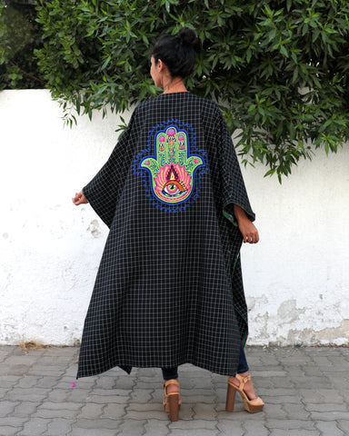 Eshe Dashiki Embroidery | Black