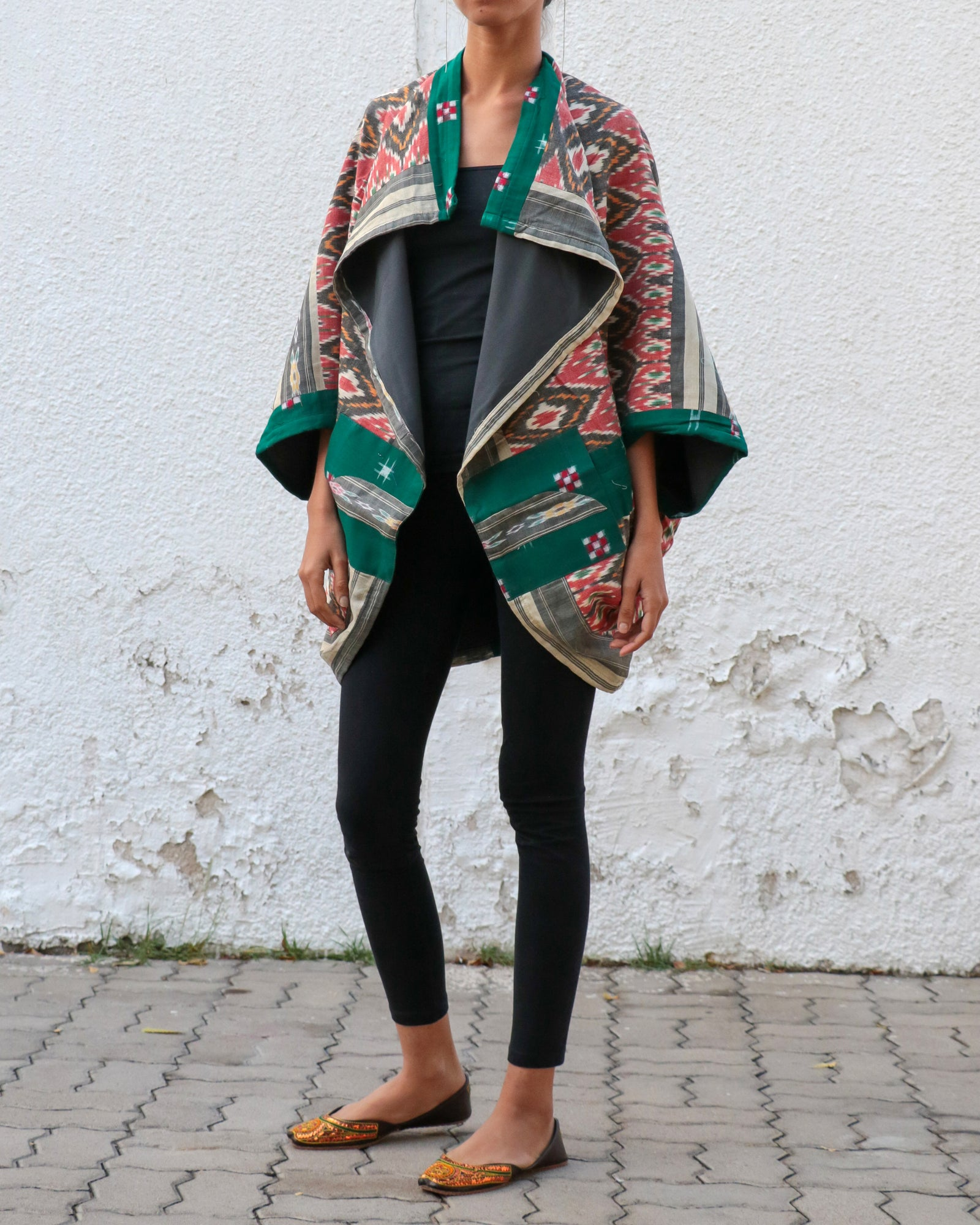 Earthy Ikats | 2-Way Jacket
