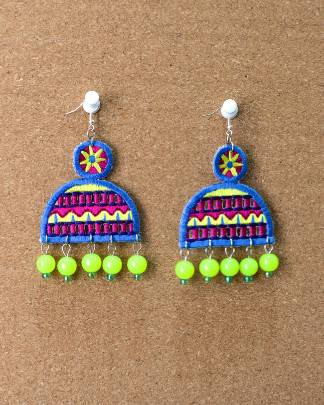 Mahi Earrings | Laser Lemon