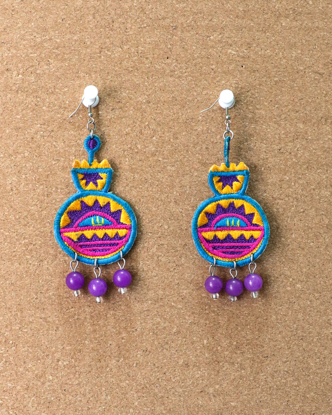 Venus Earrings | Purple Regalia